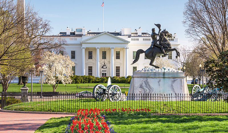 White House at virginia