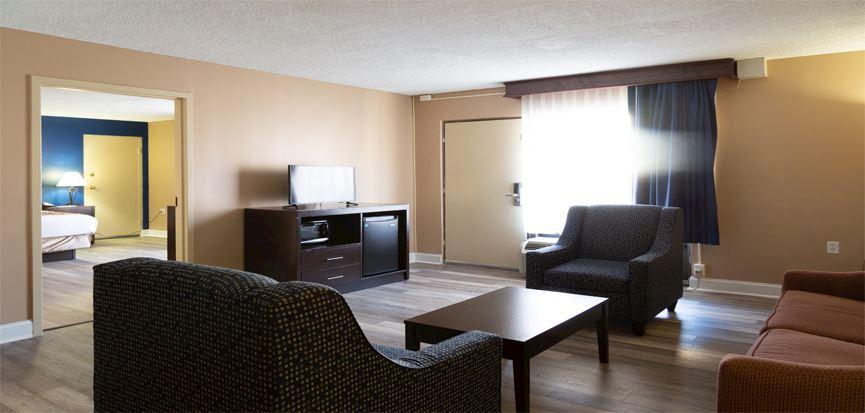 King Bed Suite at Hotel Pentagon Arlington, Virginia