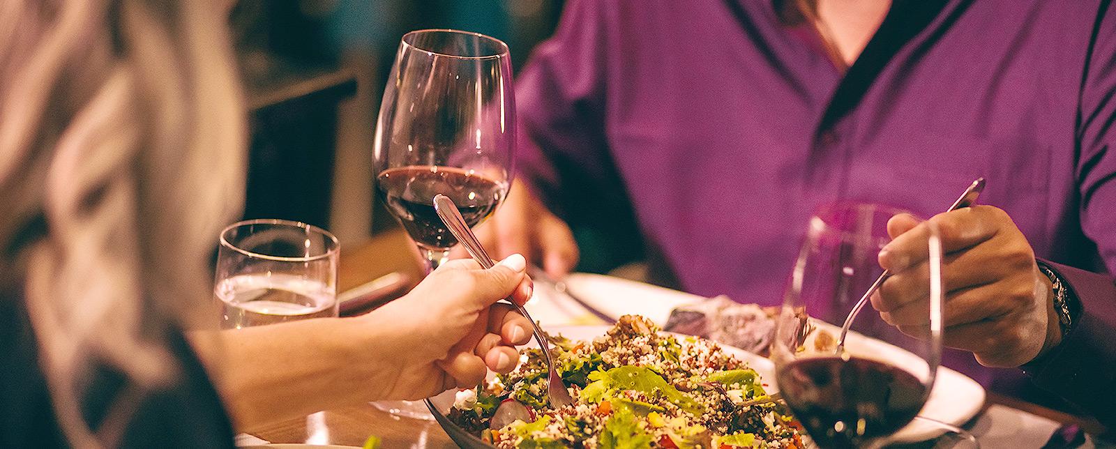 Dining at Hotel Pentagon Arlington, Virginia