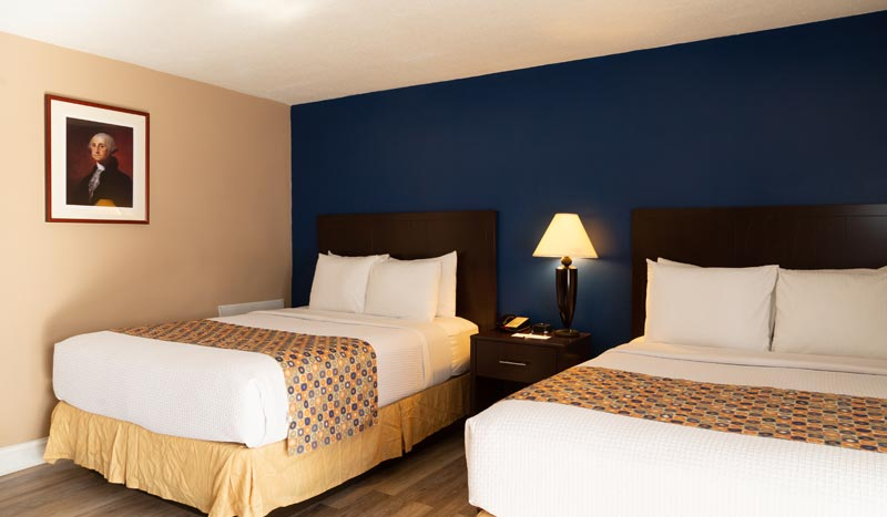 Two Bedroom Suite - 4 Queen Beds at Hotel Pentagon arlington virginia